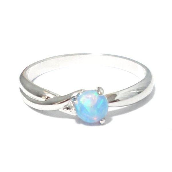 Opal 10月の誕生石オパール リング