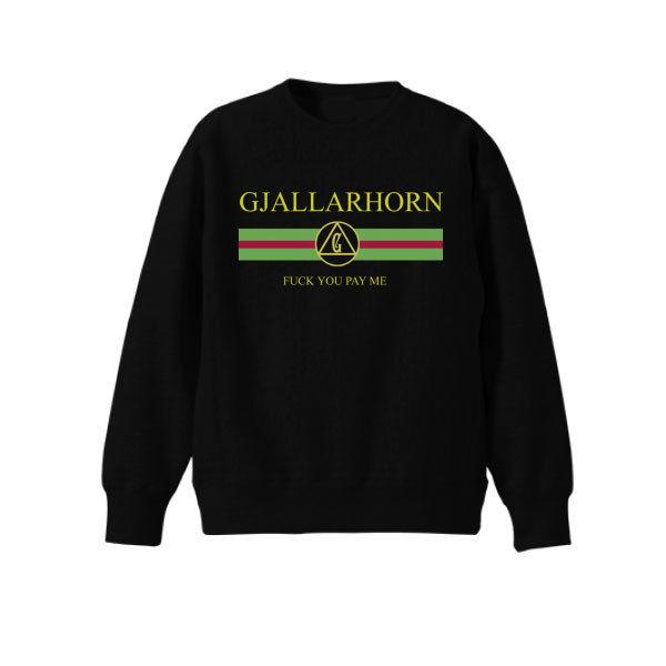 GJALLARHORN ギャラルホルン パロディロゴFUCK YOU PAYME スウェット