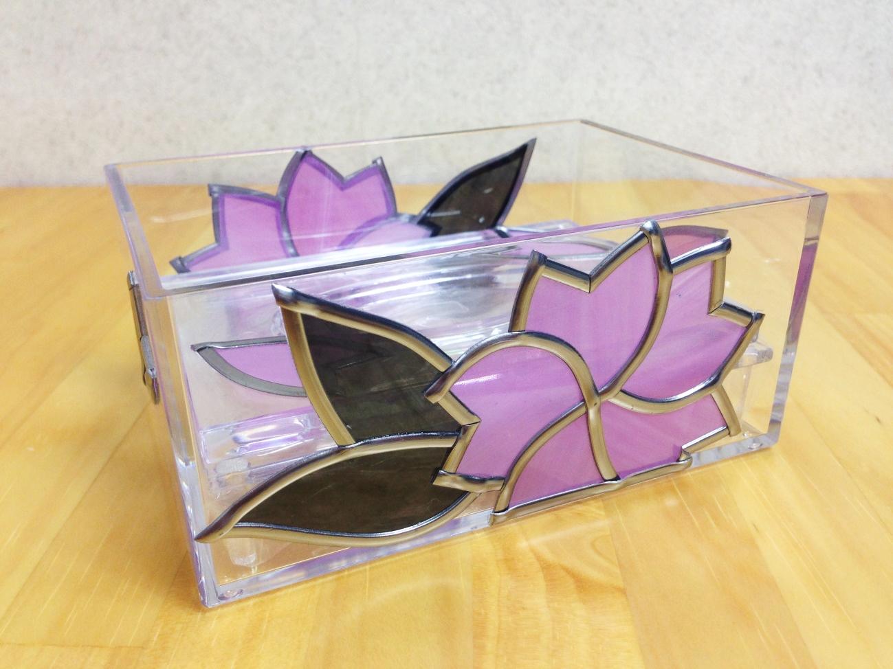 桜の小物入れ(ポケットティッシュケース)