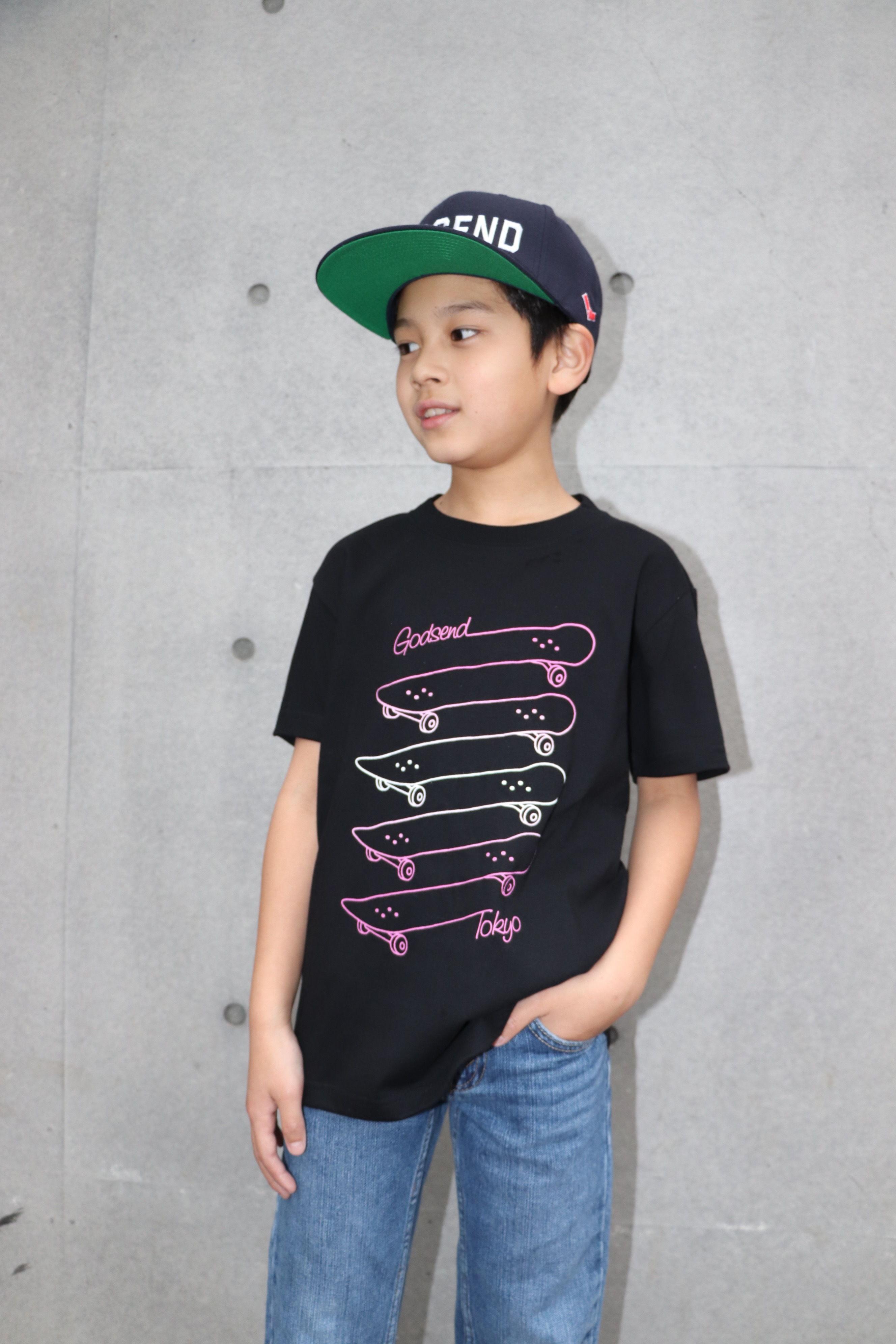 SK8  GRADATION  TEE  SK8  グラデーションTシャツ