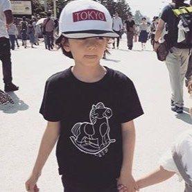 ROCKING  HORSE  T-Shirts  KIDS  木馬Tee  KIDSサイズ