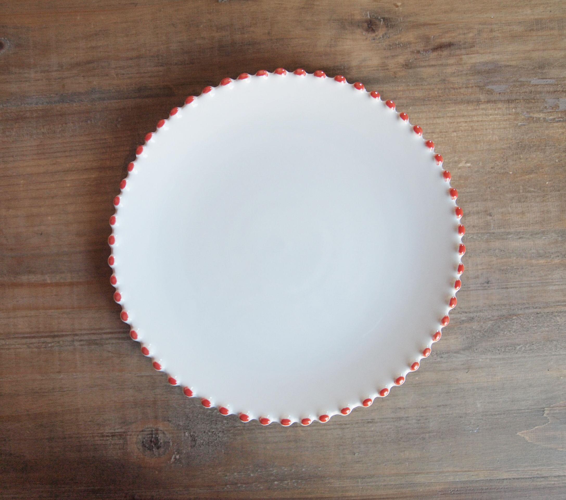 ドット 洋食器(サラダプレート)