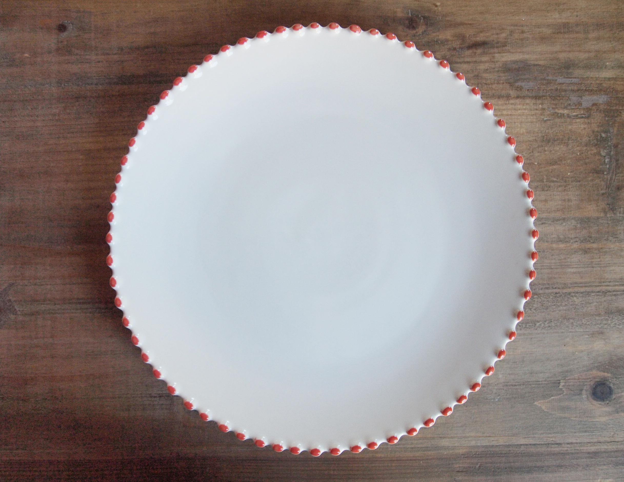 ドット 洋食器 大皿