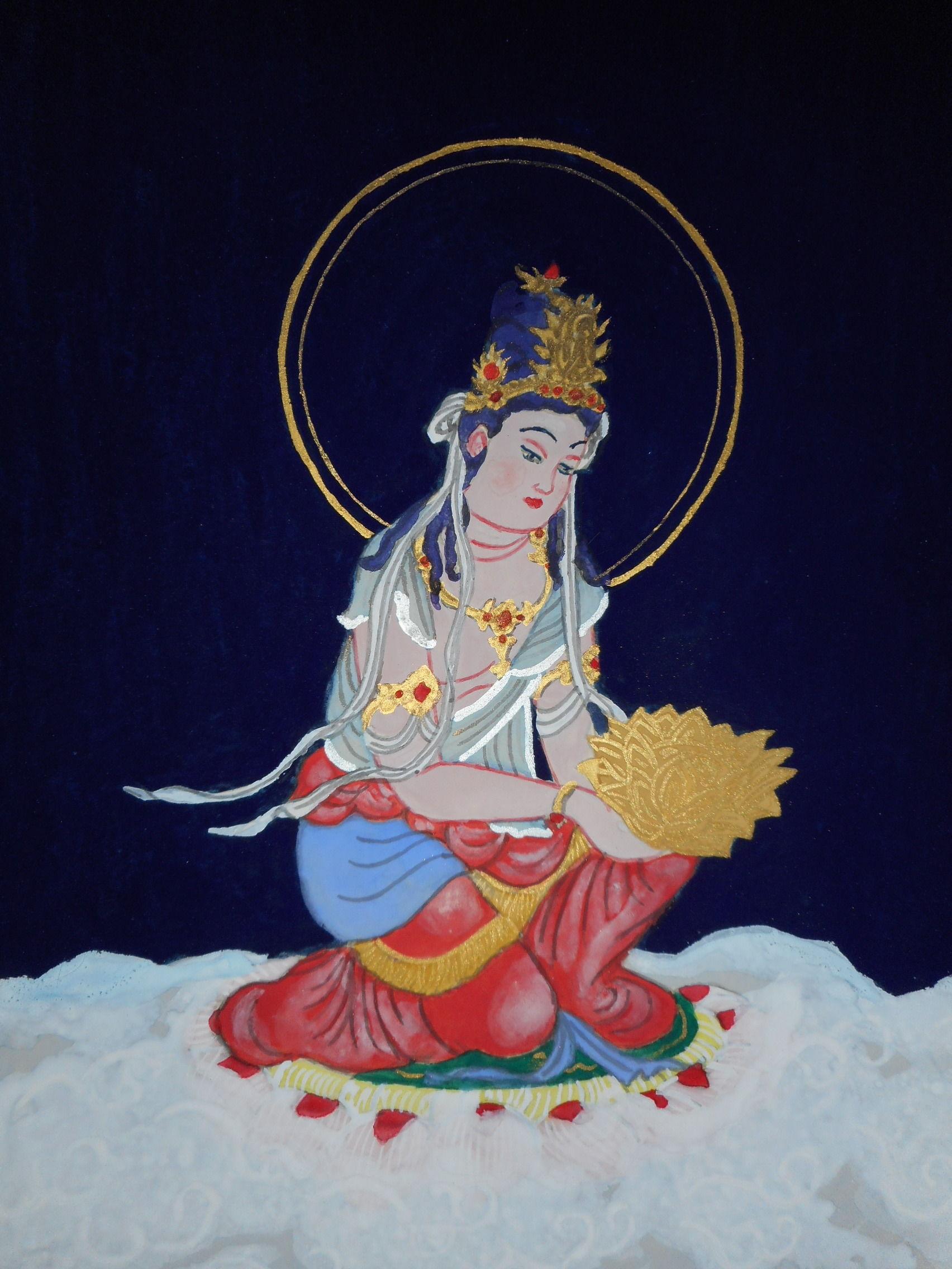 開運仏画 聖観音菩薩