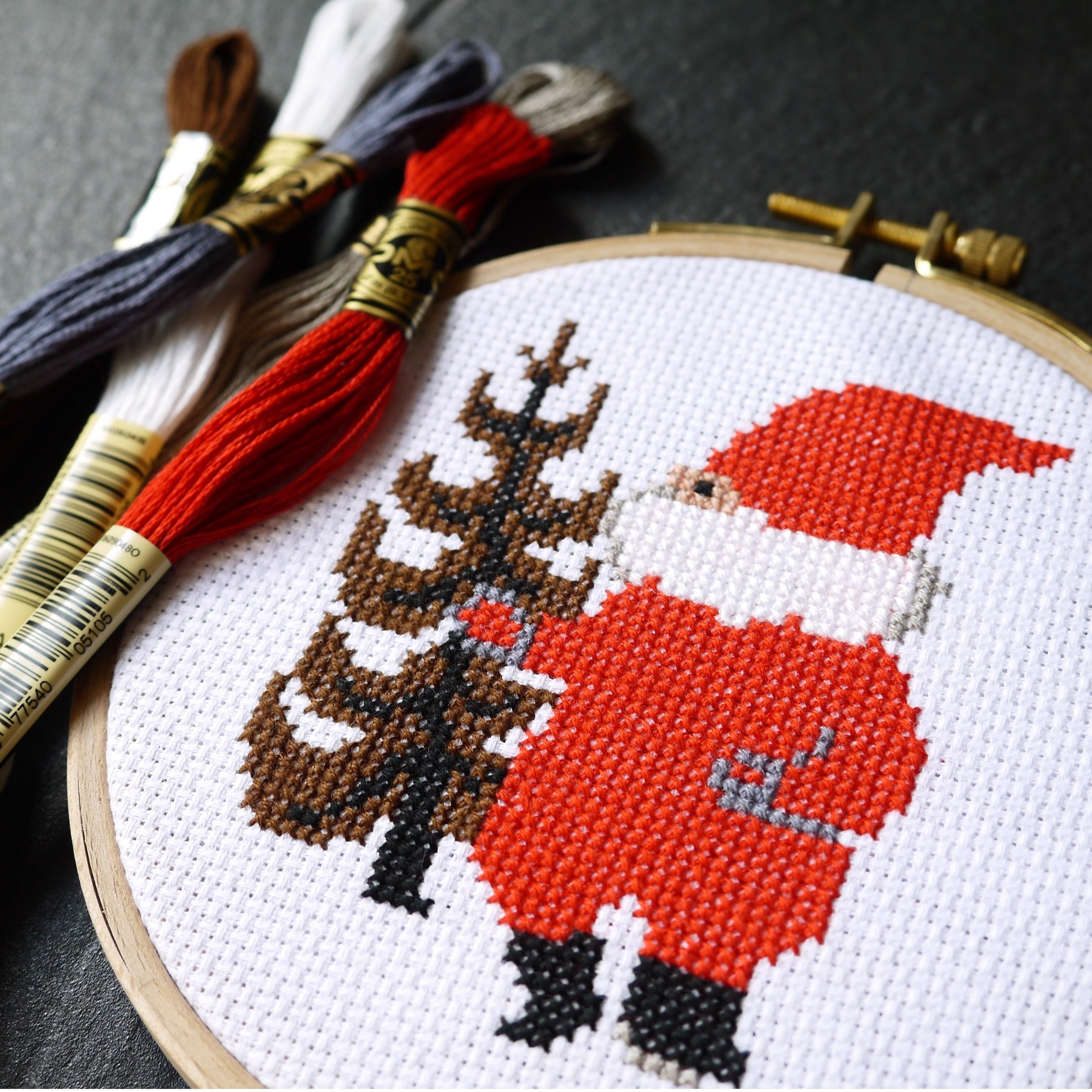 Christmas Cross Stitch Kit  [DMC]