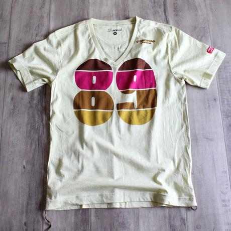 レトロナンバーTシャツ CRM