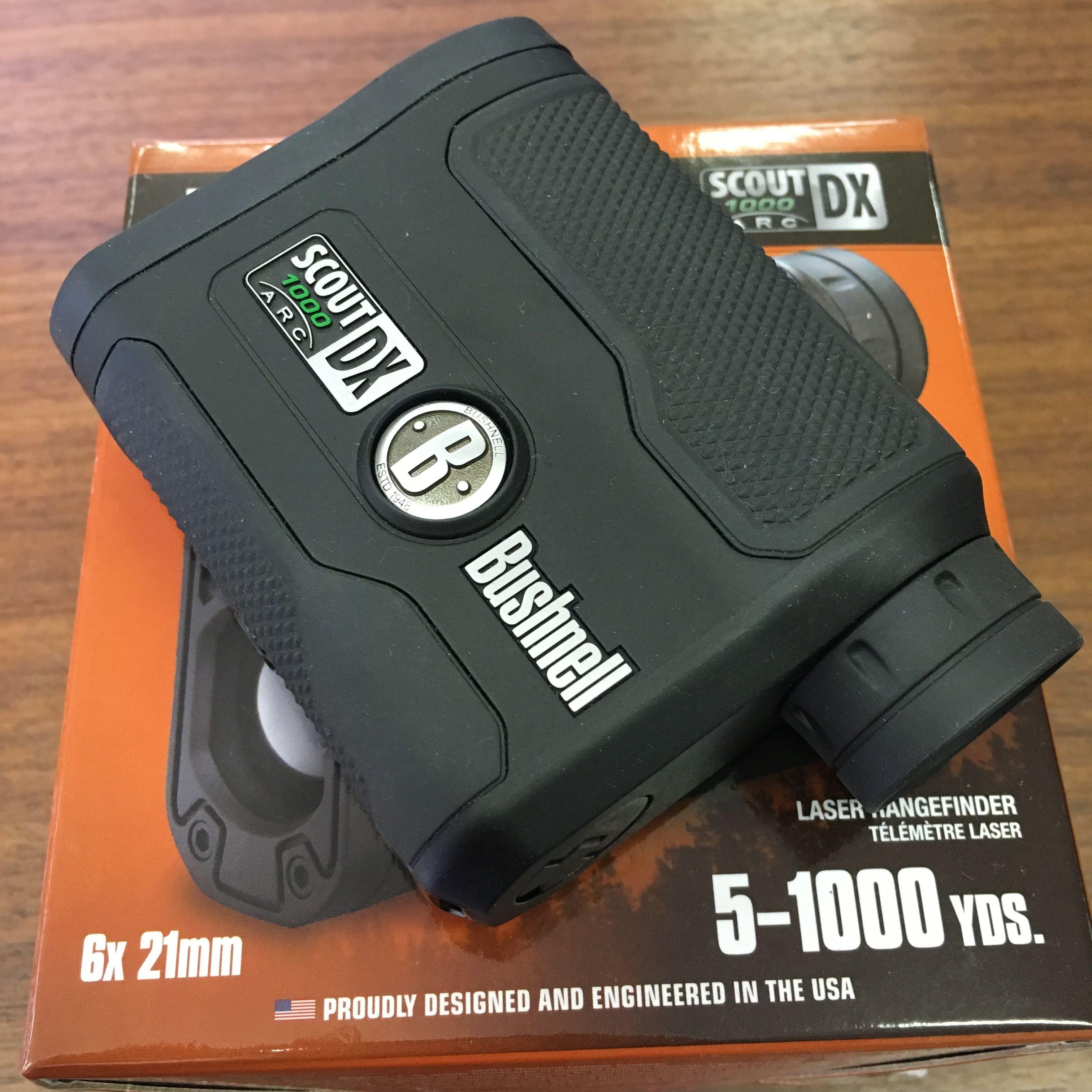 【Bushnell距離計】ライトスピード スカウト1000DX