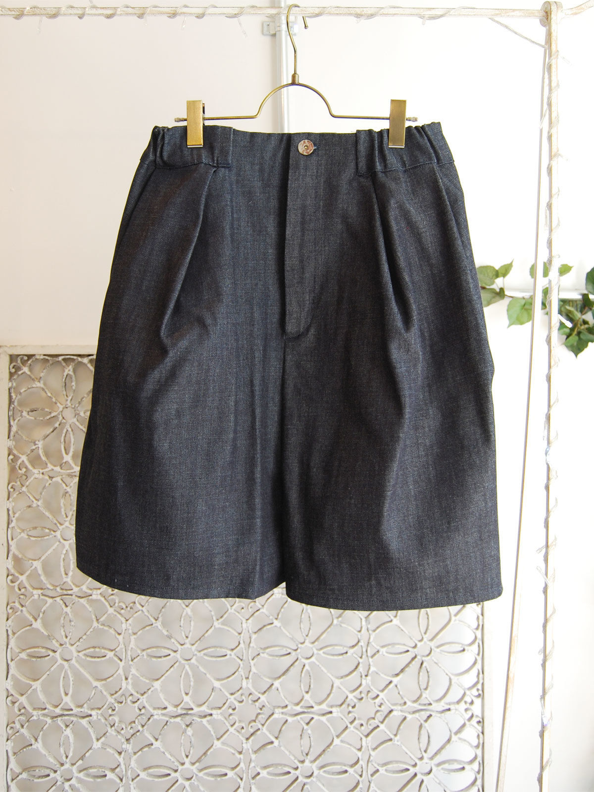 40%OFF!!!! SHIROMA 16S/S chase the unknown denim culotte