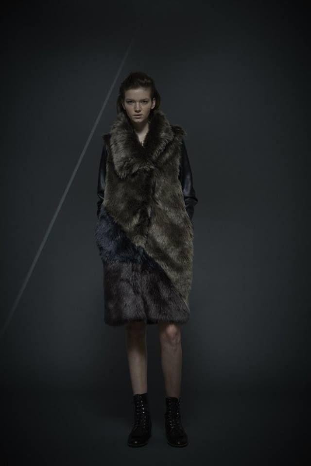 50%OFF!!! SHIROMA 16-17A/W DARK AGES fur coat