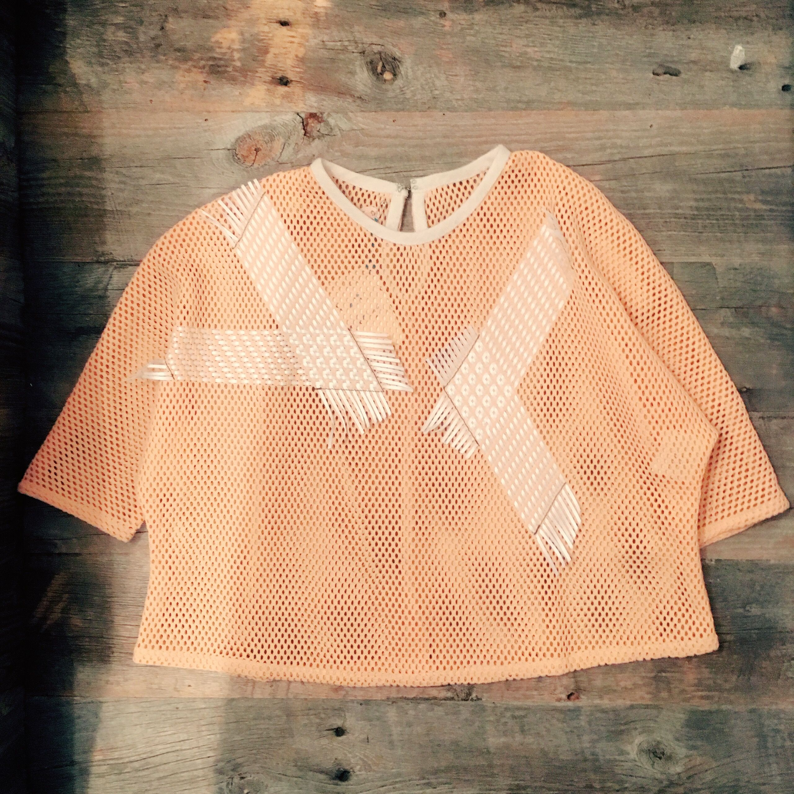 50%OFF!!!! FROM FABRICYARN mesh top【2】