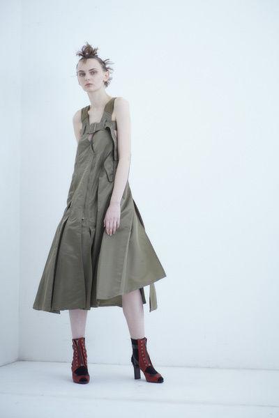 【予約商品】SHIROMA 18-19A/W CHURCH break up ma-1 dress