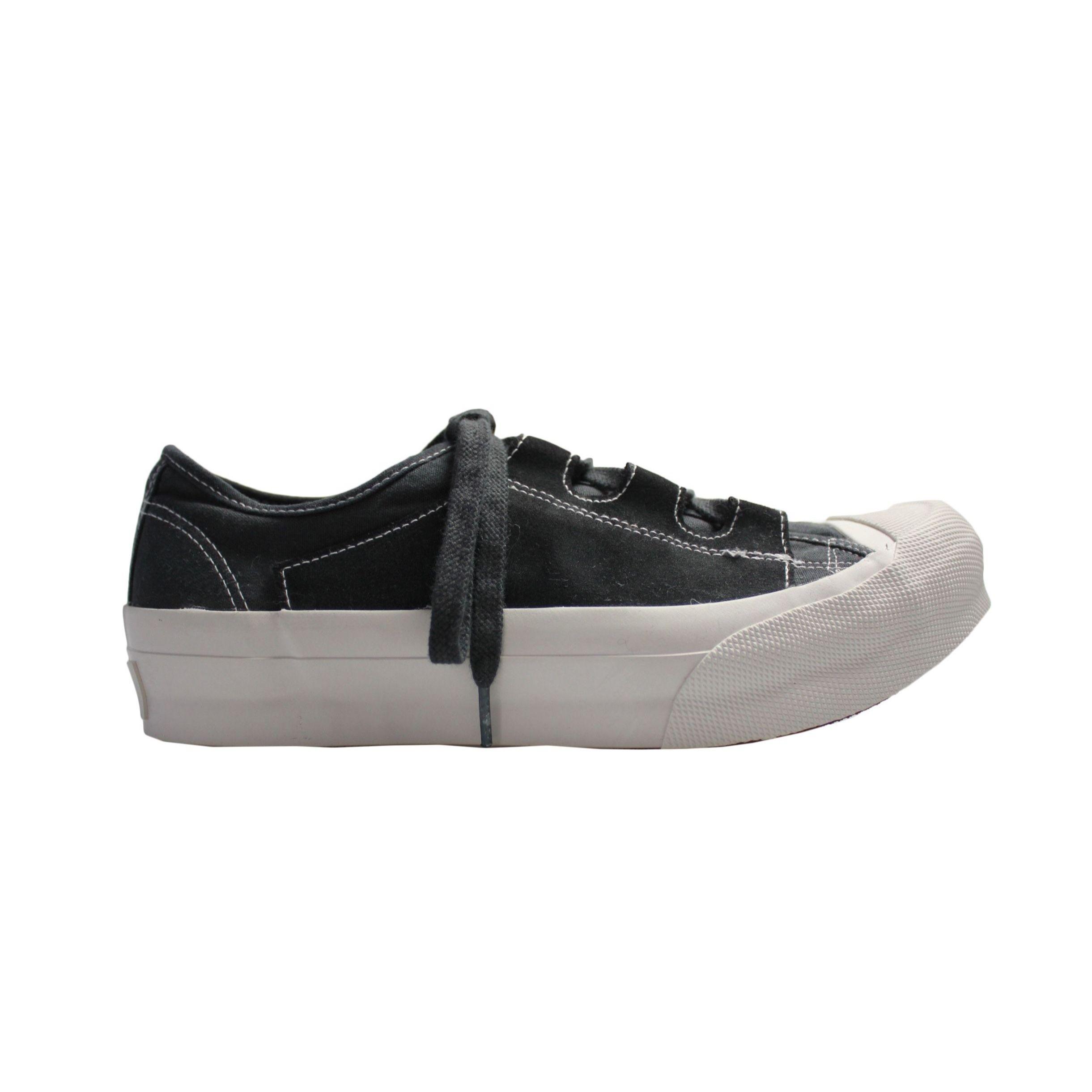 NEEDLES - Asymmetric Ghillie Sneaker  -black