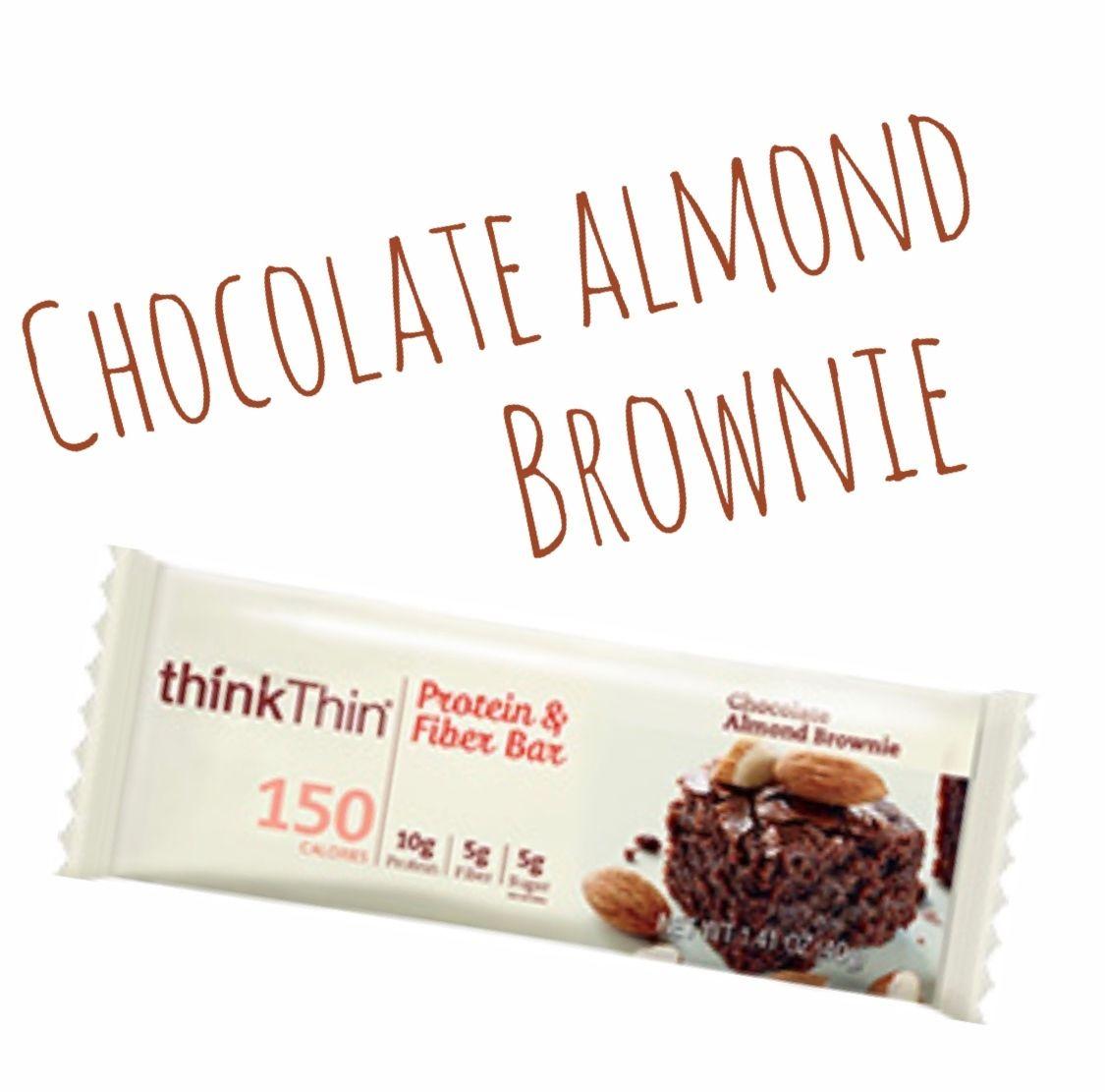thinkThin プロテインバー チョコレートアーモンドブラウニー味