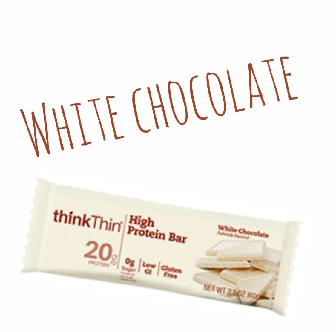 thinkThin プロテインバー ホワイトチョコレート味