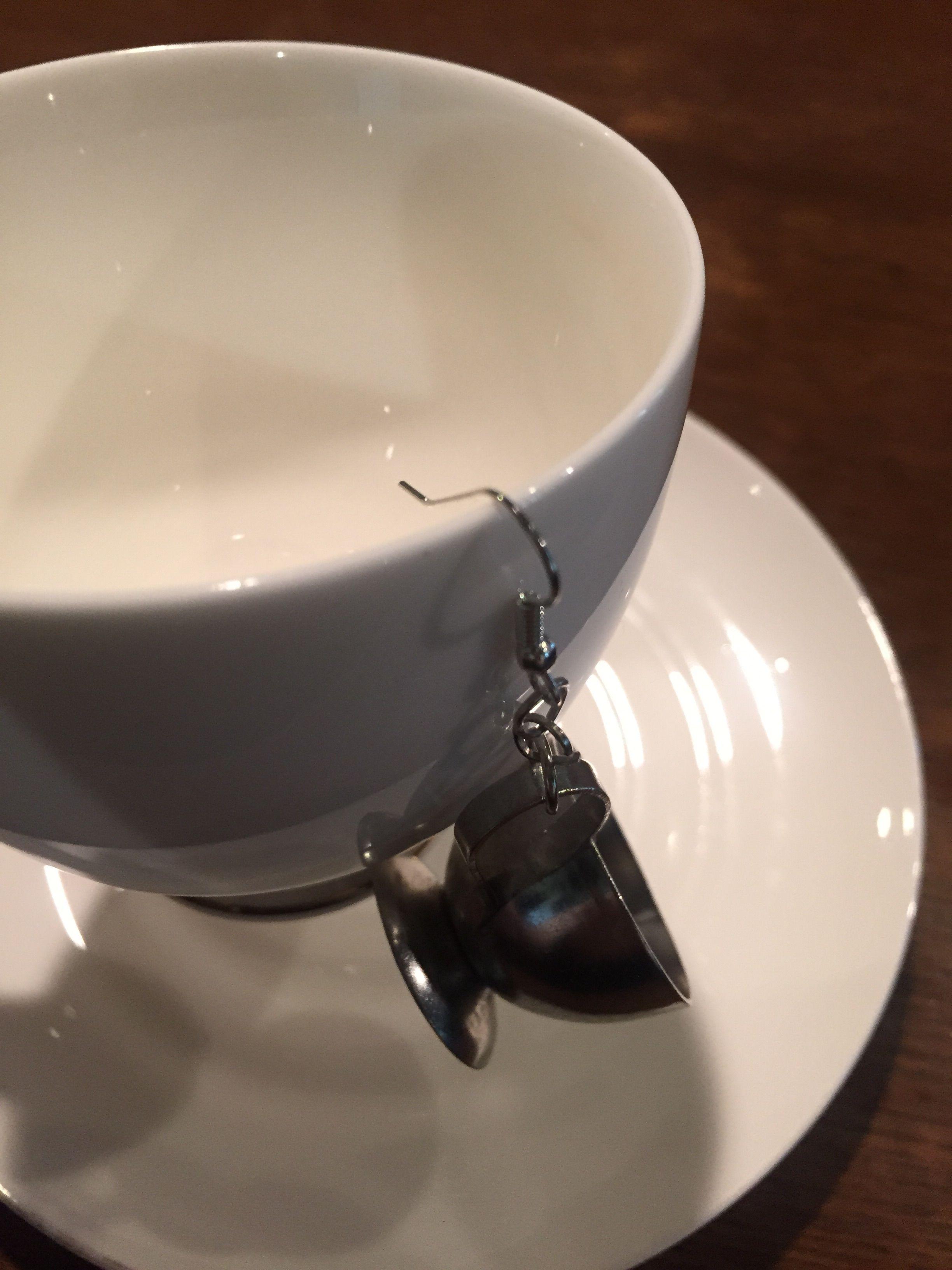コーヒーミルク入れピアス