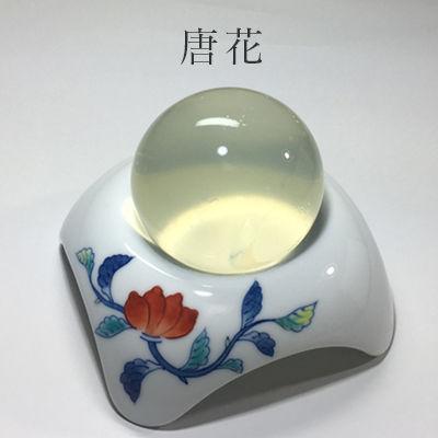 ソープディッシュ(唐花)+白美の雫洗顔石鹸