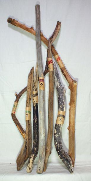 流木枝 お得な10本セット C 50-100