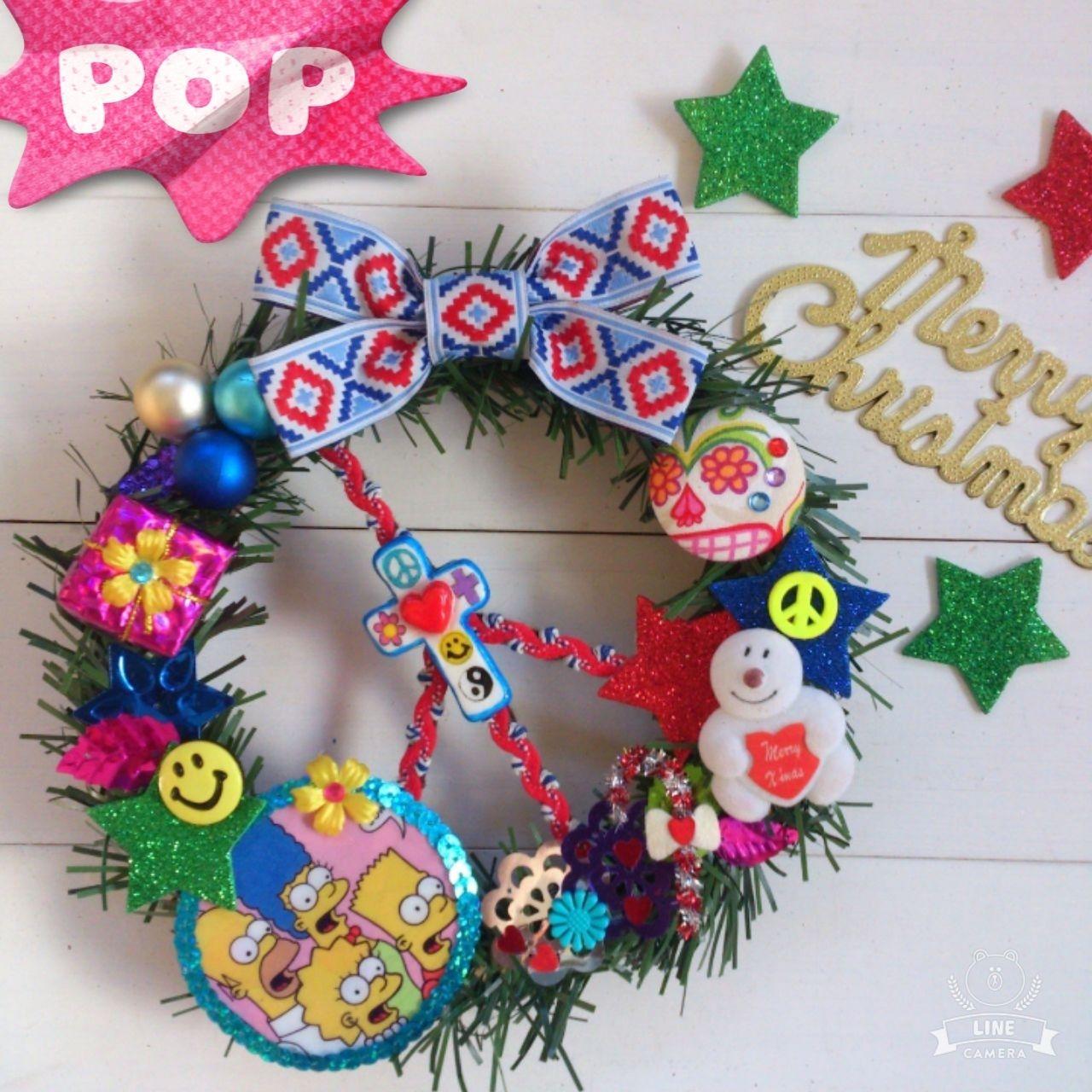 ChristmasWreath☆シンプソンズ