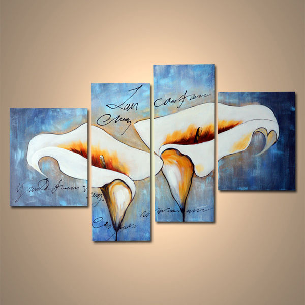 【art gallery】 絵画 モダン アートパネル 手書き 油絵 「花」 木枠フレーム付