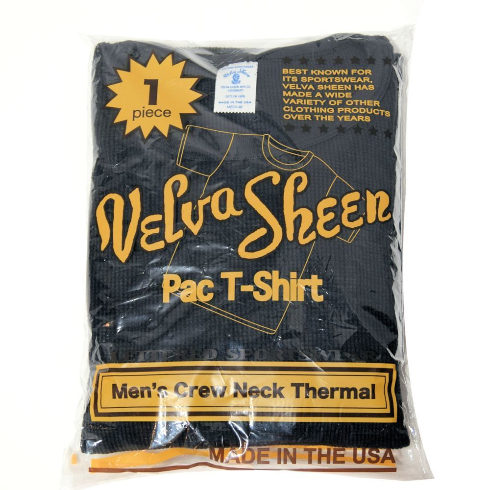 【VelvaSheen】 1Pac Slub THERMAL