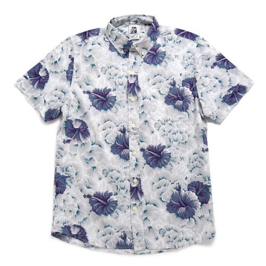 【Kennington】Big flower Hawai S/SL Shirts