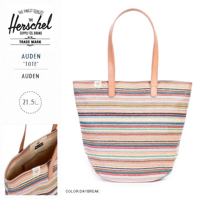 "HERSCHEL Supply(ハーシェルサプライ)/AUDEN ""TOTE"" WOMENS(オーデン トート ウーマン)【DAYBREAK】"