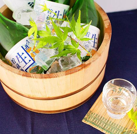 月ノ井酒造 夏の冷酒セット