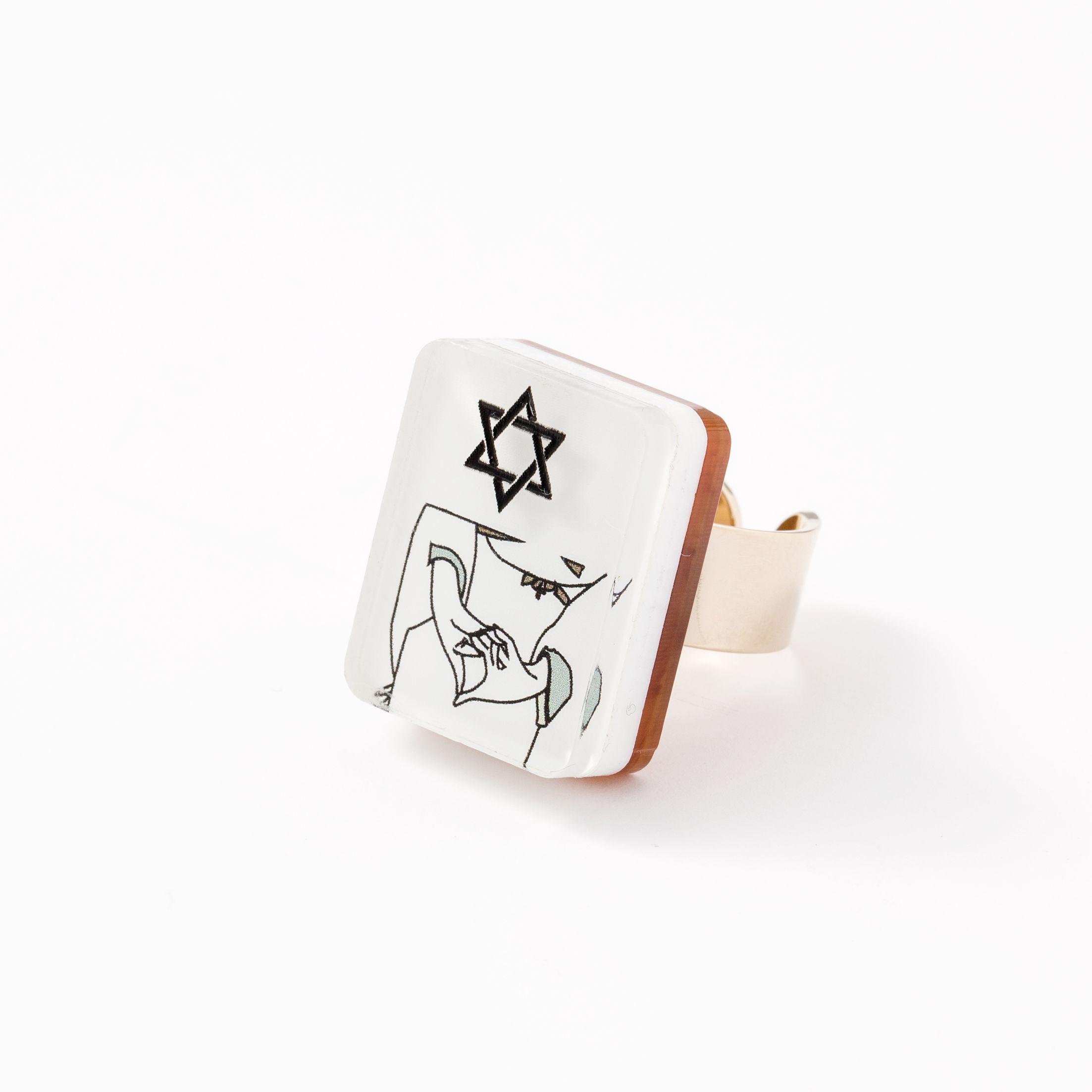 YUMEJI RING(HEXAGRAM)
