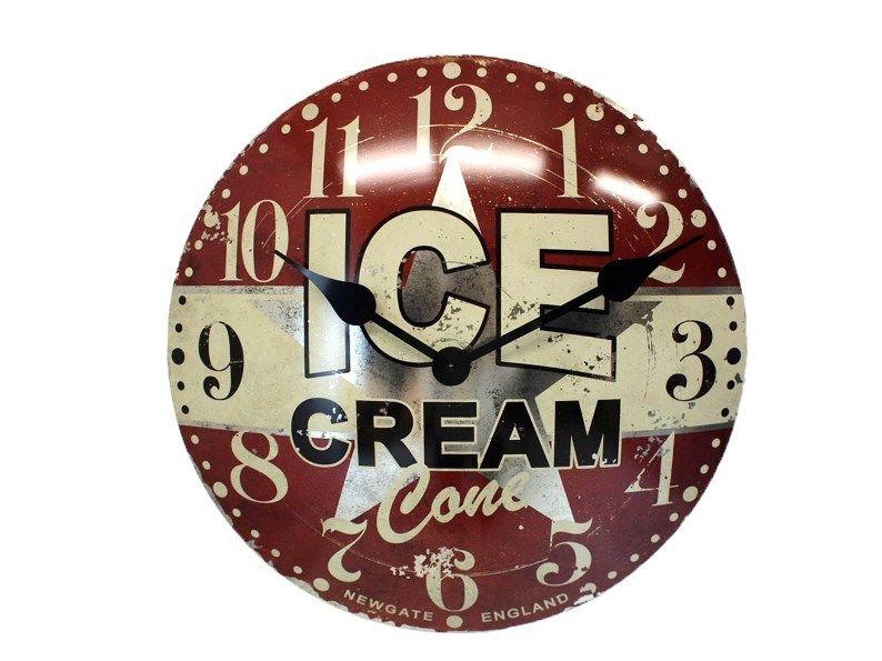 【アウトレット】NEWGATE・アイスクリーム アドバタイジング クロック【SS】
