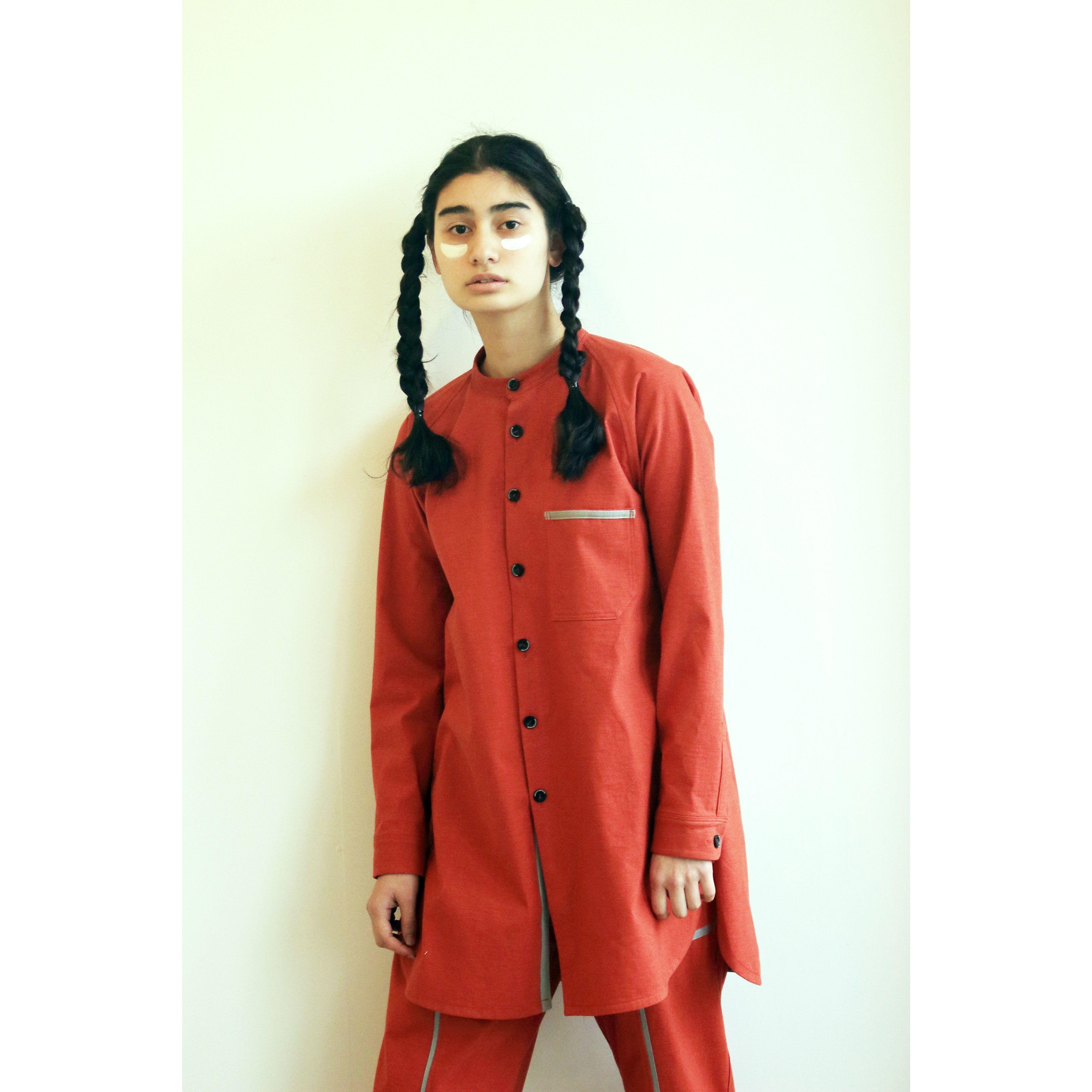 リンリンロングシャツ / orange