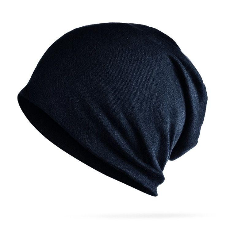 【hitandrun】シンプル ニットキャップ メンズ 黒 オールシーズン ブラック ニット帽 ロールアップ ワッチ 帽子 無地 フリーサイズ レディース ビーニー