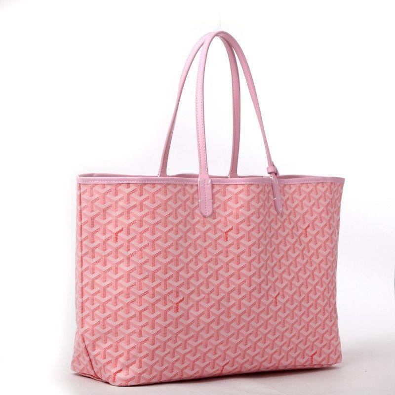 ゴヤール バッグ 定番 GOYARD トートバッグ サンルイPM ノワール ナチュラル  送料無料 通勤 旅行 14色入 ピンク
