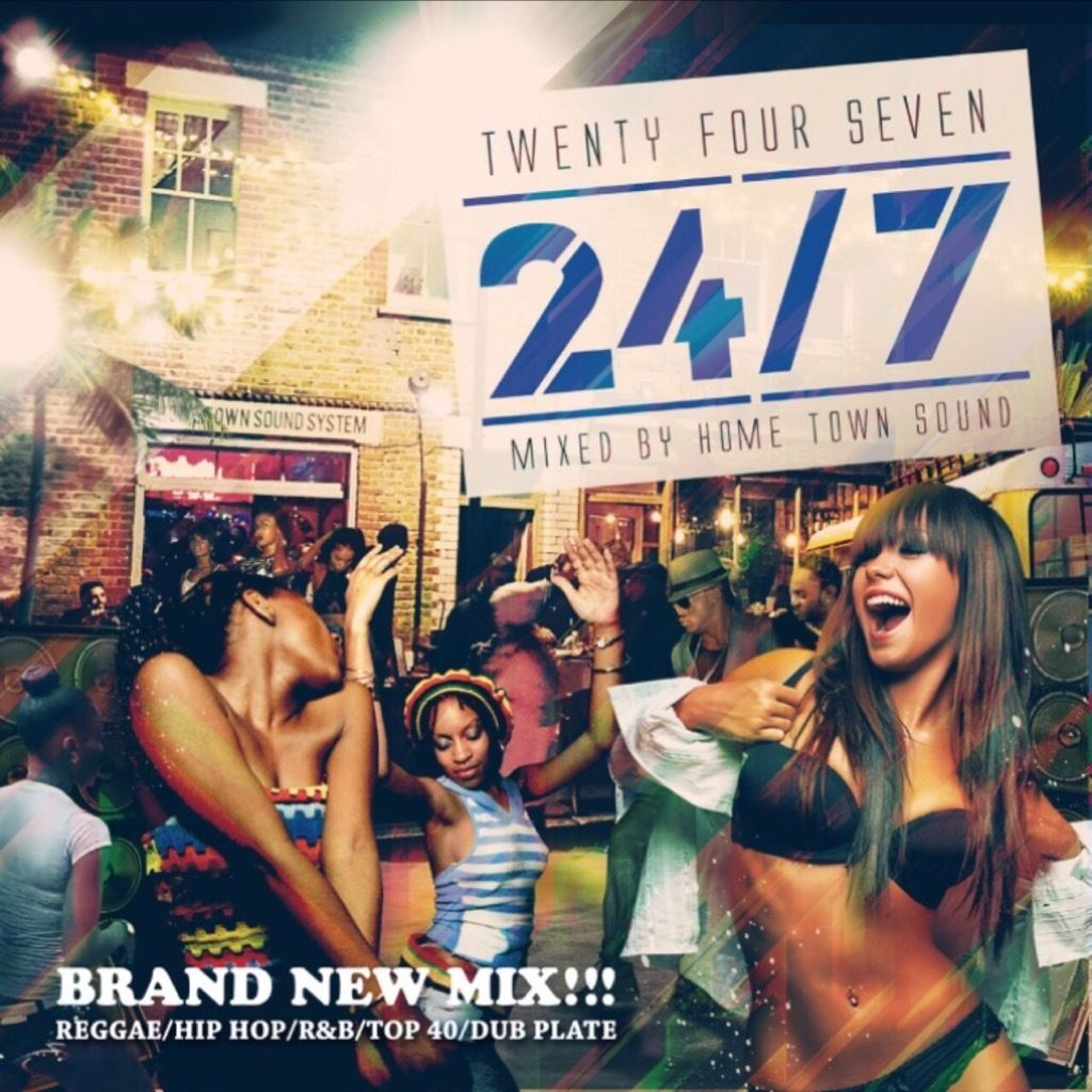 24/7 VOL.1 BRANDNEW DANCEHALL MIX