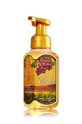 Bath & Body Works(バス&ボディワークス)の抗菌フレグランスの泡ハンドソープ~Autumn Vinesオータム バイン~
