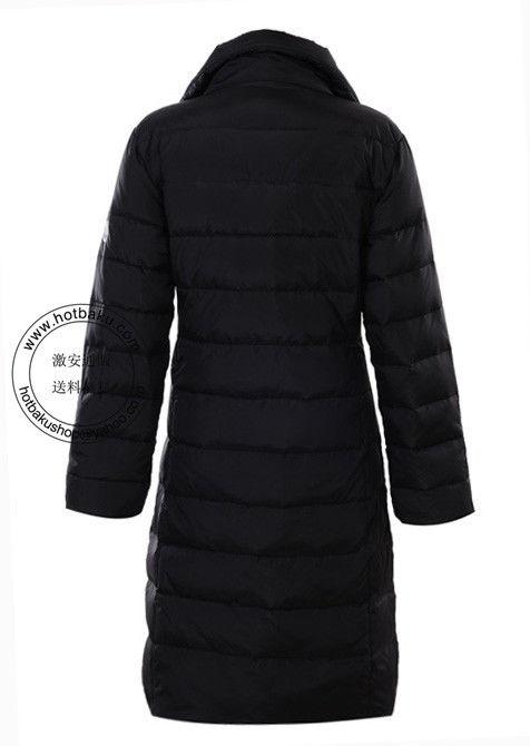 雑誌掲載モデル モンクレール コート 2012 Moncler Fragon ダウン レディース ブラック