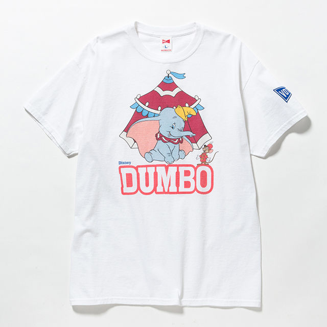 "VOTE MAKE NEW CLOTHES ""DUMBO TEE""(ホワイト)"