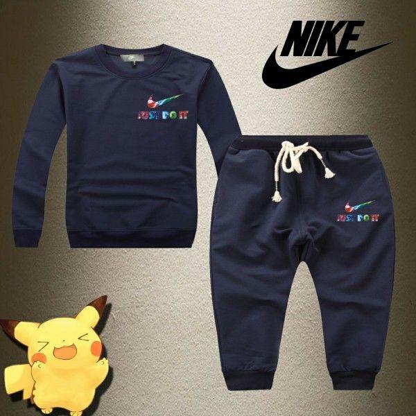 KIDS ナイキ可愛い Nike 上下セット スウェット ジャージ キッズセットアップ 人気上下セットアップ ファッション 男女兼用