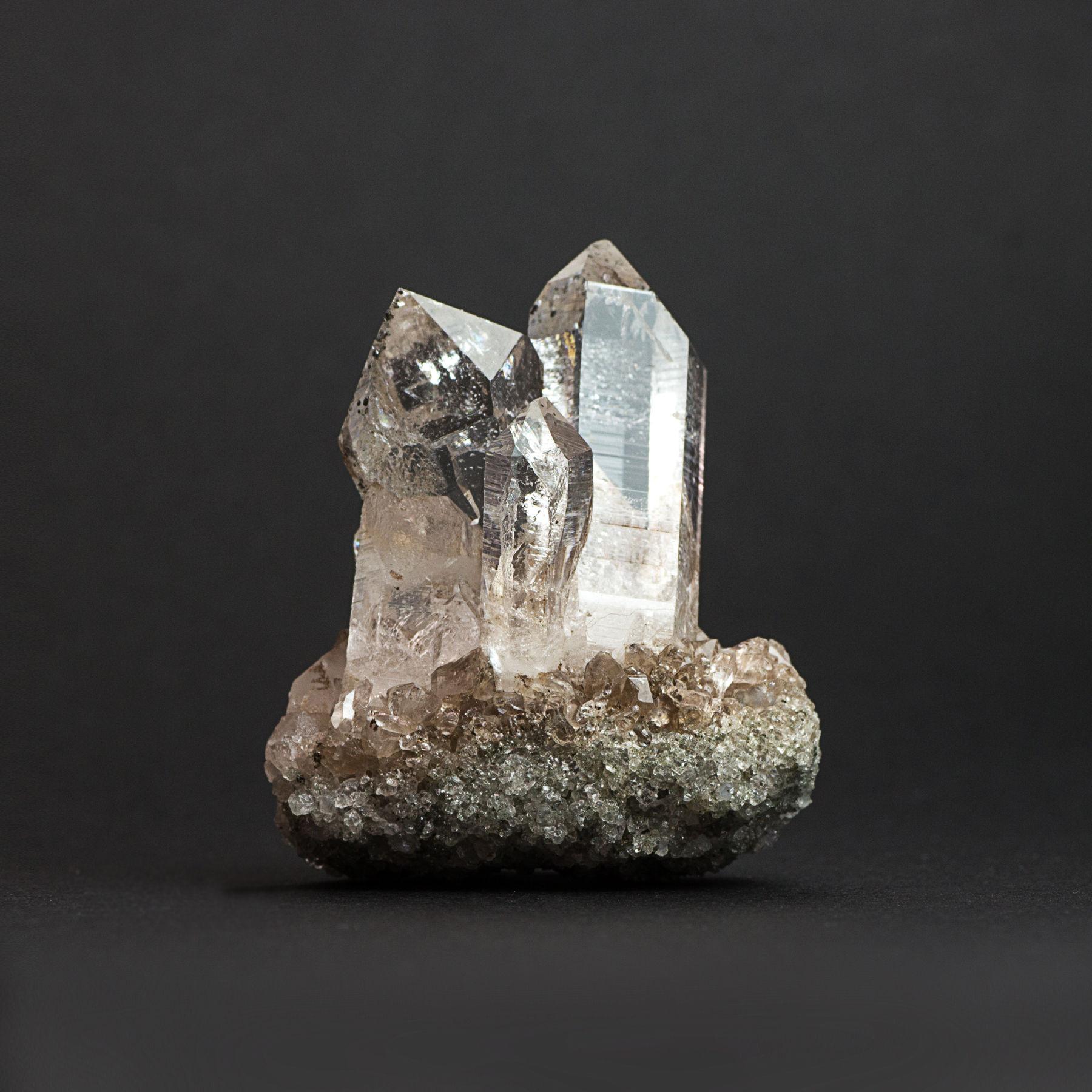 ヒマラヤ産水晶クラスター 鉱物オブジェNO.1