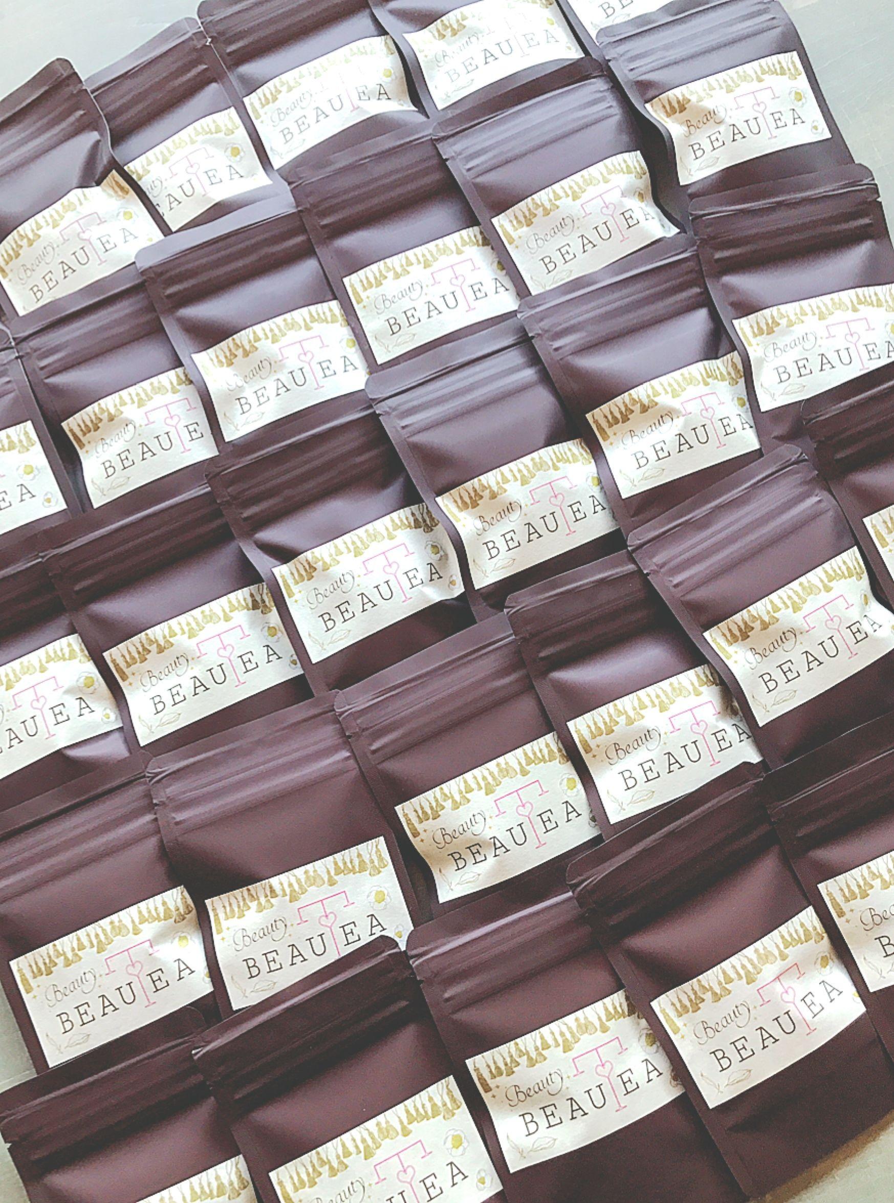 薬膳茶*Beauty BEAUTEAティーバッグ5個入りプチパック(ブラウン) 2点まで郵送 ◆3点以上は宅急便となります