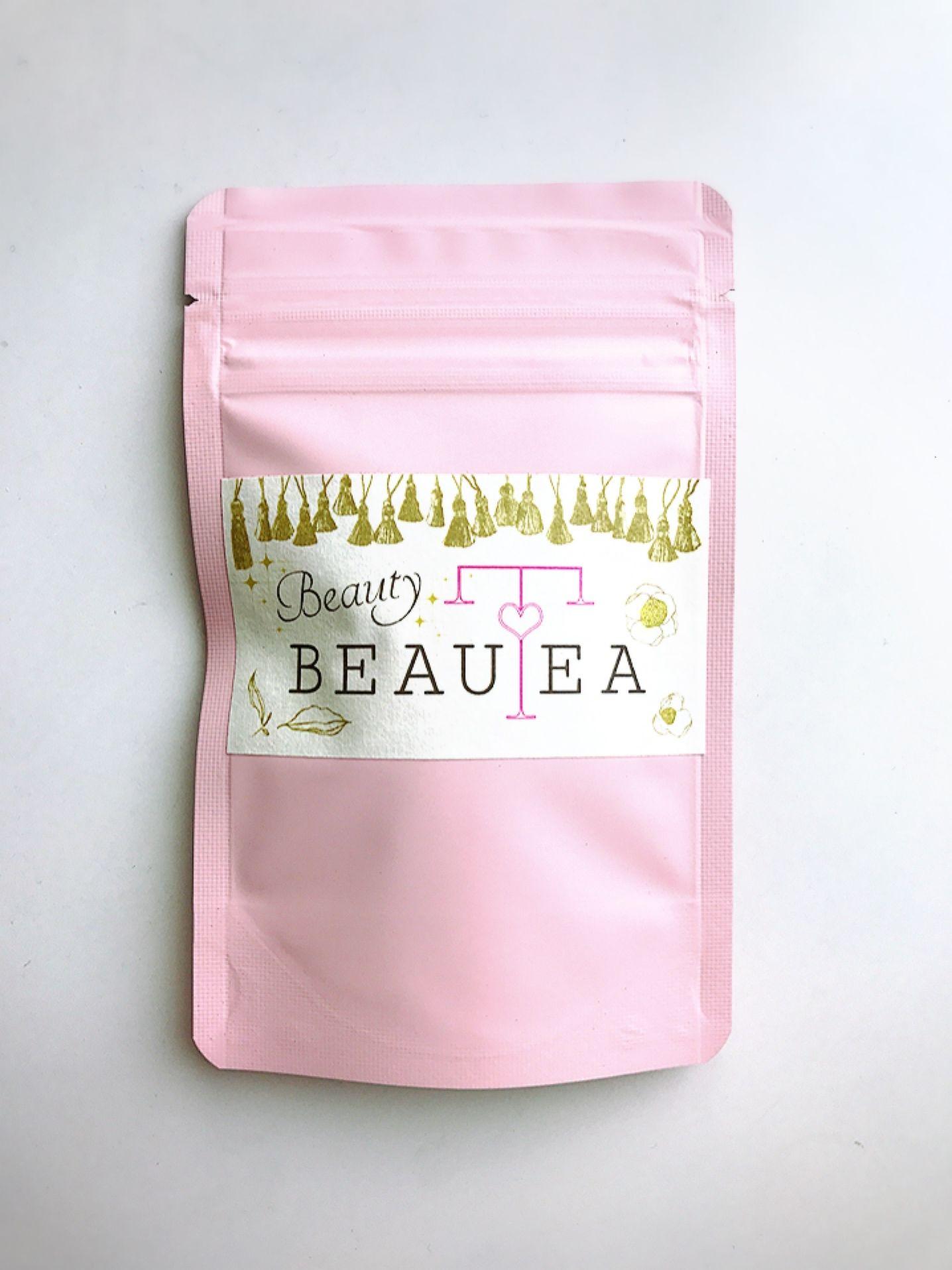 薬膳茶*Beauty BEAUTEAティーバッグ5個入りプチパック(ピンク)2点まで郵送 ◆3点以上は宅急便となります