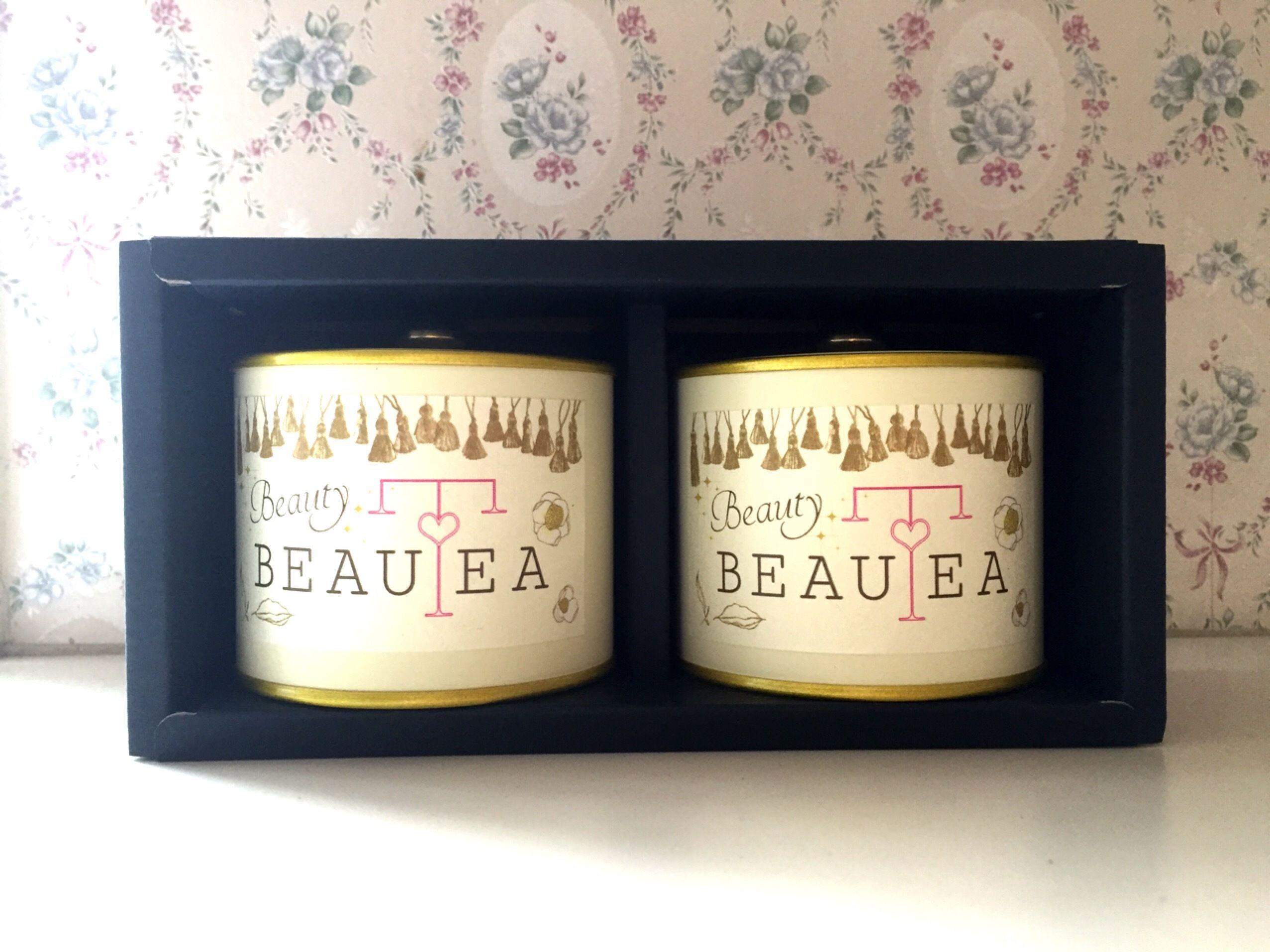 薬膳茶*Beauty BEAUTEA 缶入り ペアBOX
