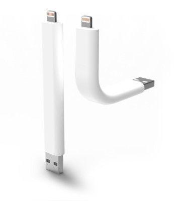 TRUNK Lightningケーブル White iPhone5専用