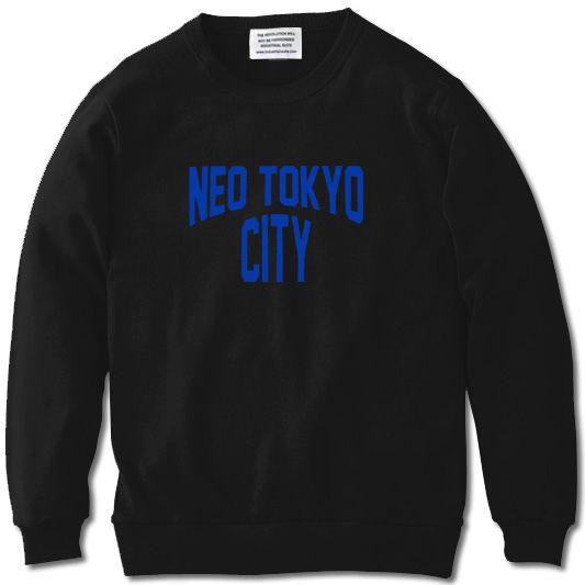 NEO TOKYO CITY SWEAT【BLACK】