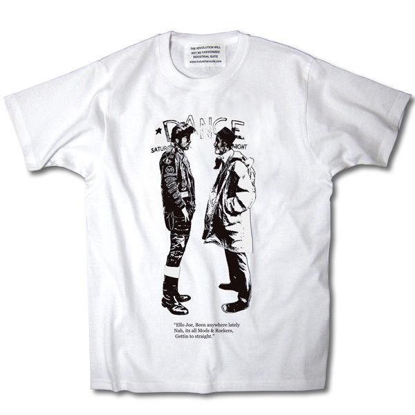 MODSvsROCKERS TEE【WHITE-A】