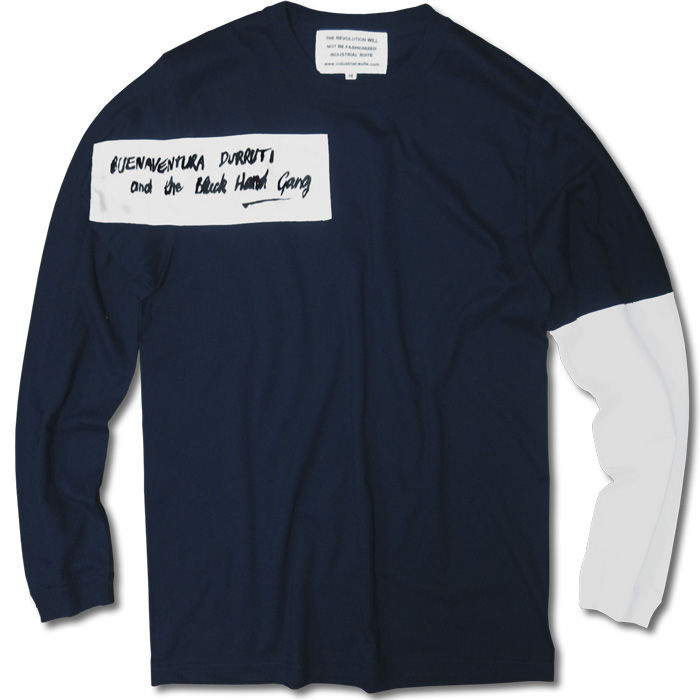 ANARCHY LONG SLEEVE TEE【NAVY】