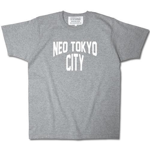 NEO TOKYO CITY TEE【GRAY-B】