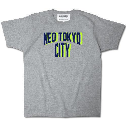 NEO TOKYO CITY TEE【GRAY】