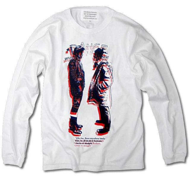 MODSvsROCKERS LONG SLEEVE TEE【WHITE-B】