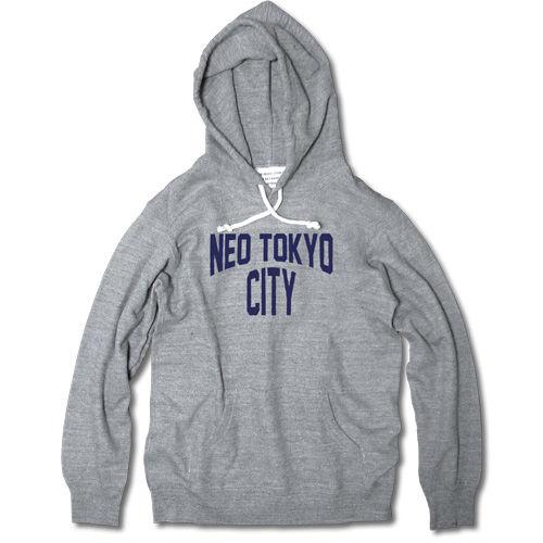 NEO TOKYO CITY P.O. PARKA【GRAY B】