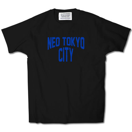 NEO TOKYO CITY TEE【BLACK-B】